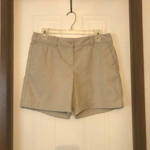 "SALE Loft 6"" Inseam Khaki Shorts Size 4 Original"